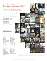 Contemporary Photography in Hawai'i 2012:  Exhibition April 6 - April 27, 2012